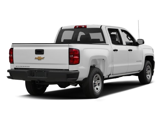 2016 Chevrolet Silverado 1500 Prices and Values Crew Cab Work Truck 4WD side rear view