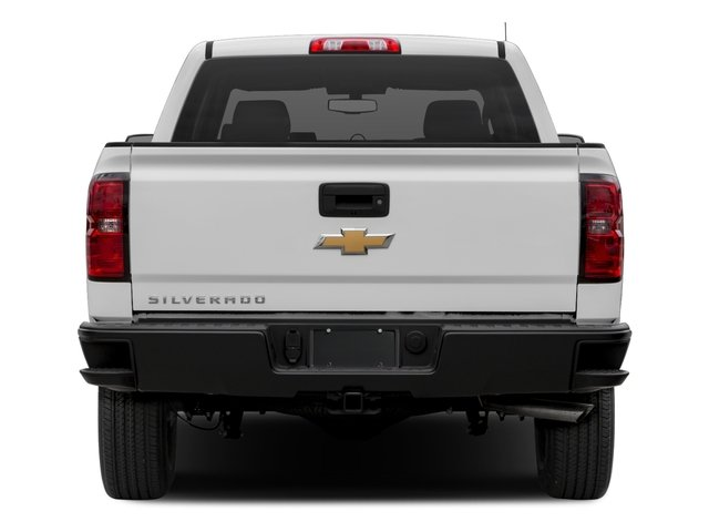 2016 Chevrolet Silverado 1500 Prices and Values Crew Cab Work Truck 4WD rear view