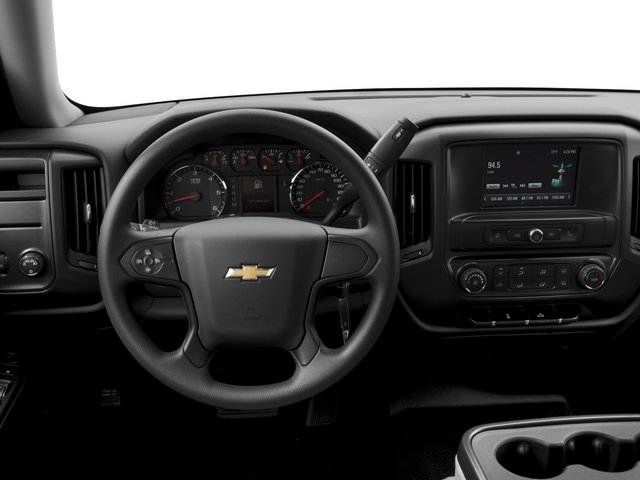 2016 Chevrolet Silverado 1500 Prices and Values Crew Cab Work Truck 4WD driver's dashboard