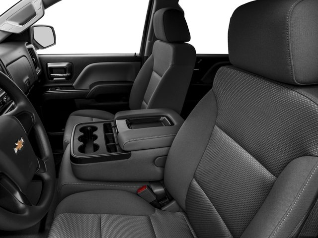 2016 Chevrolet Silverado 1500 Prices and Values Crew Cab Work Truck 4WD front seat interior