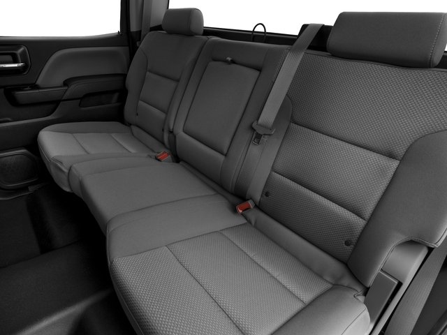 2016 Chevrolet Silverado 1500 Prices and Values Crew Cab Work Truck 4WD backseat interior