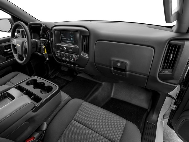2016 Chevrolet Silverado 1500 Prices and Values Crew Cab Work Truck 4WD passenger's dashboard