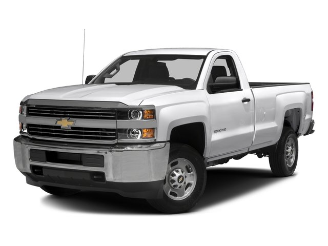2016 Chevrolet Silverado 2500HD Prices and Values Regular Cab Work Truck 2WD side front view