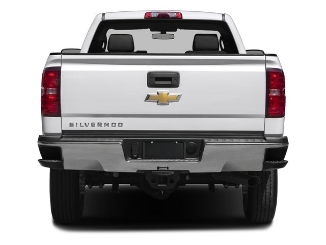 2016 Chevrolet Silverado 2500HD Prices and Values Regular Cab Work Truck 2WD rear view