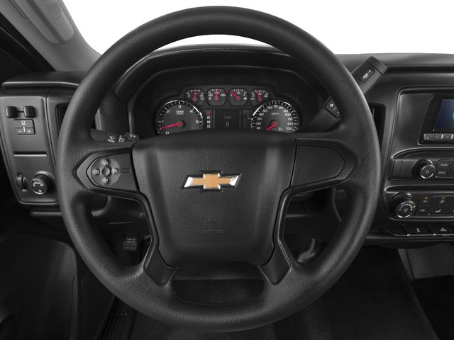 2016 Chevrolet Silverado 2500HD Prices and Values Regular Cab Work Truck 2WD driver's dashboard