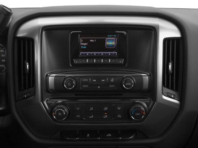 2016 Chevrolet Silverado 3500HD Prices and Values Extended Cab LTZ 2WD stereo system
