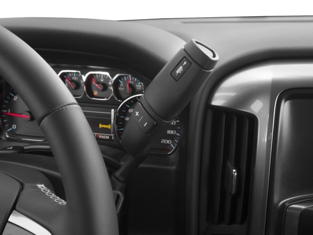 2016 Chevrolet Silverado 2500HD Prices and Values Extended Cab LT 2WD center console