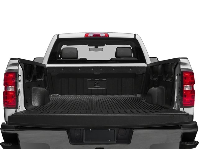 2016 Chevrolet Silverado 2500HD Pictures Silverado 2500HD Extended Cab LT 4WD photos open trunk