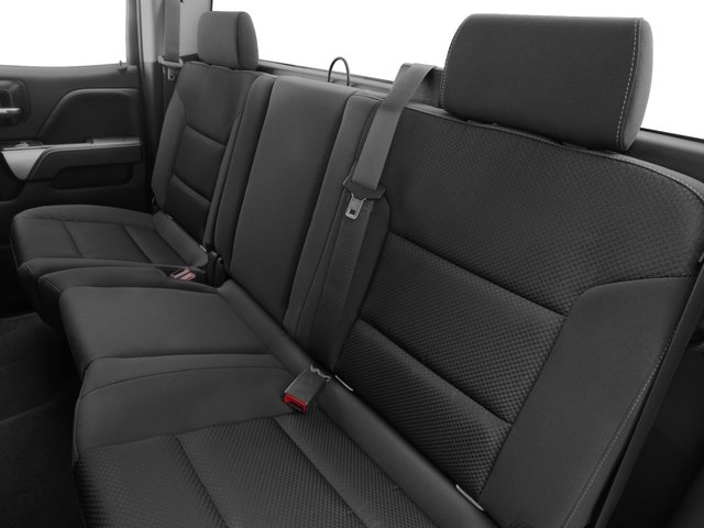 2016 Chevrolet Silverado 2500HD Prices and Values Extended Cab LT 2WD backseat interior