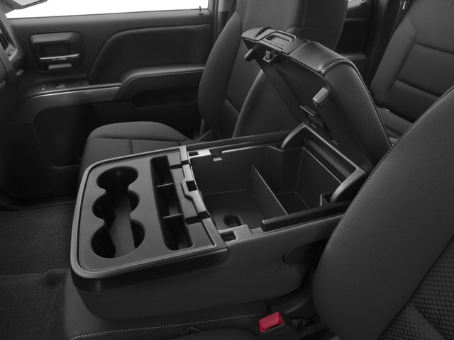 2016 Chevrolet Silverado 2500HD Prices and Values Extended Cab LT 2WD center storage console