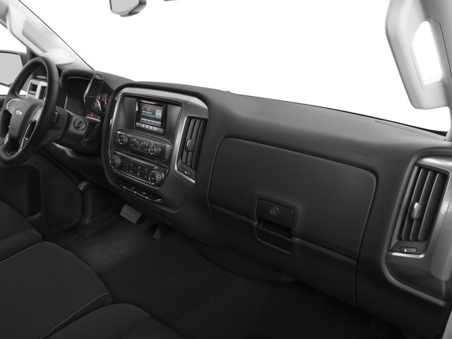 2016 Chevrolet Silverado 3500HD Prices and Values Extended Cab LTZ 4WD passenger's dashboard