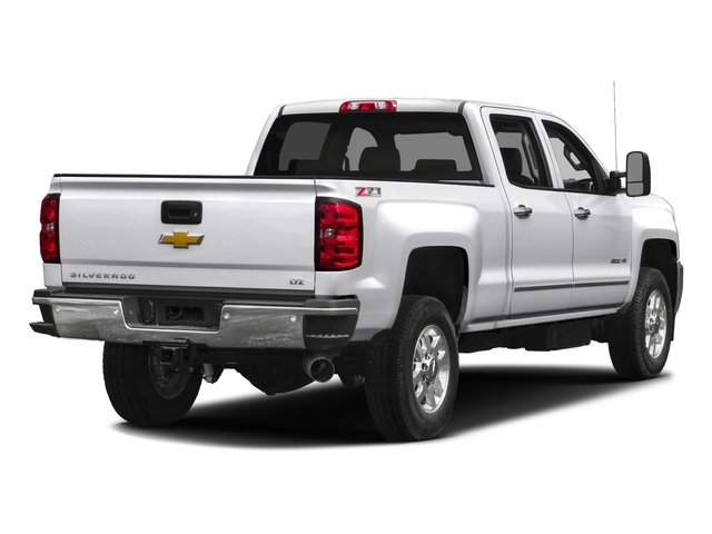 2016 Chevrolet Silverado 2500HD Pictures Silverado 2500HD Crew Cab LTZ 2WD photos side rear view