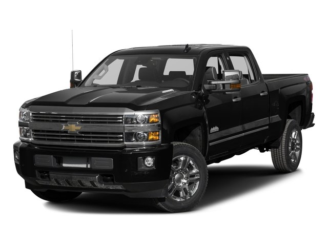 2016 Chevrolet Silverado 2500HD Prices and Values Crew Cab High Country 2WD side front view