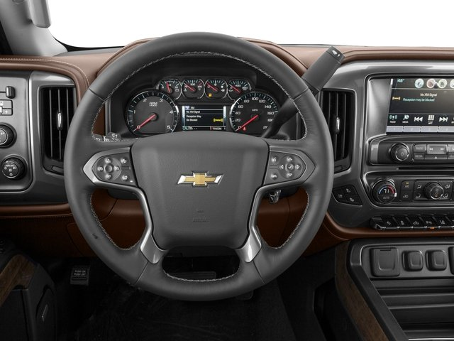 2016 Chevrolet Silverado 2500HD Prices and Values Crew Cab High Country 2WD driver's dashboard