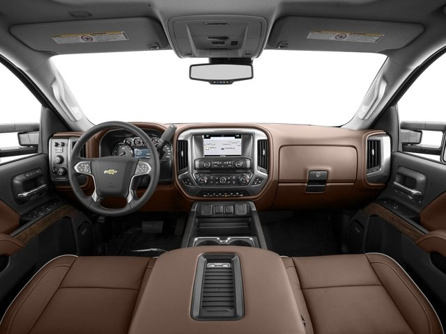 2016 Chevrolet Silverado 2500HD Prices and Values Crew Cab High Country 2WD full dashboard