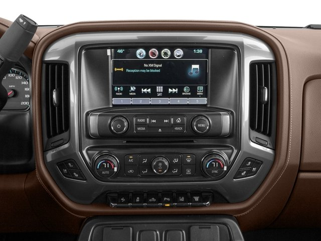 2016 Chevrolet Silverado 2500HD Prices and Values Crew Cab High Country 2WD stereo system