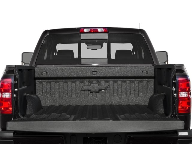 2016 Chevrolet Silverado 2500HD Prices and Values Crew Cab High Country 2WD open trunk