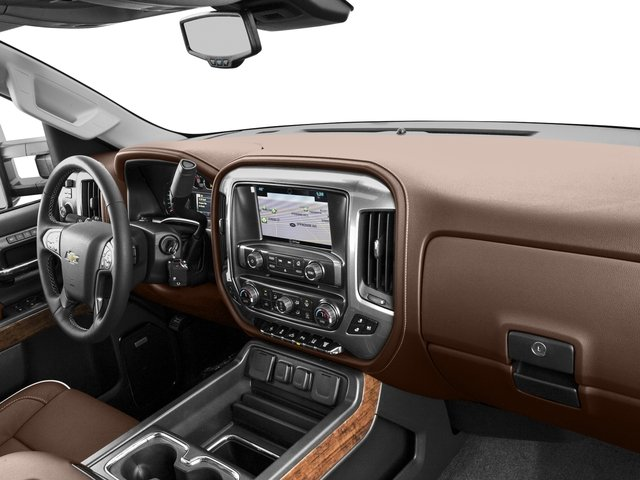2016 Chevrolet Silverado 2500HD Prices and Values Crew Cab High Country 2WD passenger's dashboard