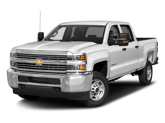 2016 Chevrolet Silverado 2500HD Prices and Values Crew Cab Work Truck 4WD side front view