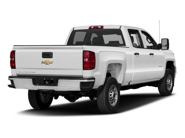 2016 Chevrolet Silverado 2500HD Prices and Values Crew Cab Work Truck 4WD side rear view