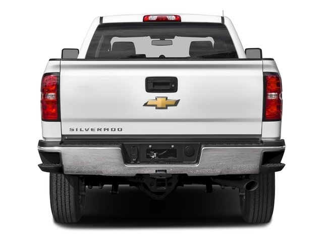 2016 Chevrolet Silverado 2500HD Prices and Values Crew Cab Work Truck 4WD rear view