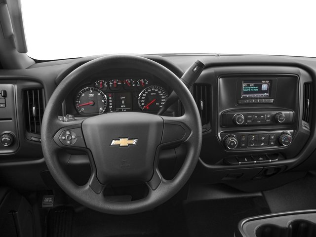 2016 Chevrolet Silverado 2500HD Prices and Values Crew Cab Work Truck 4WD driver's dashboard