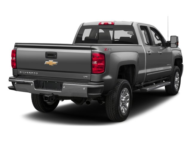 2016 Chevrolet Silverado 2500HD Pictures Silverado 2500HD Extended Cab LTZ 4WD photos side rear view