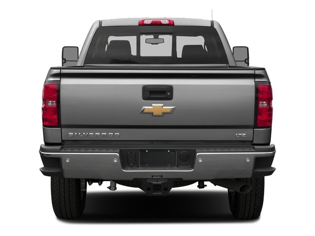 2016 Chevrolet Silverado 2500HD Pictures Silverado 2500HD Extended Cab LTZ 4WD photos rear view