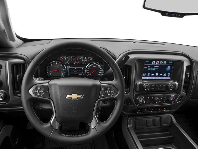 2016 Chevrolet Silverado 2500HD Prices and Values Extended Cab LTZ 4WD driver's dashboard