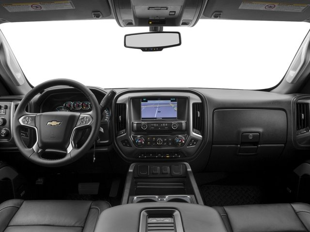 2016 Chevrolet Silverado 2500HD Pictures Silverado 2500HD Extended Cab LTZ 4WD photos full dashboard