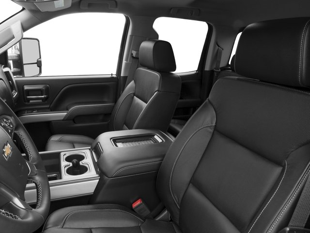 2016 Chevrolet Silverado 2500HD Prices and Values Extended Cab LTZ 4WD front seat interior