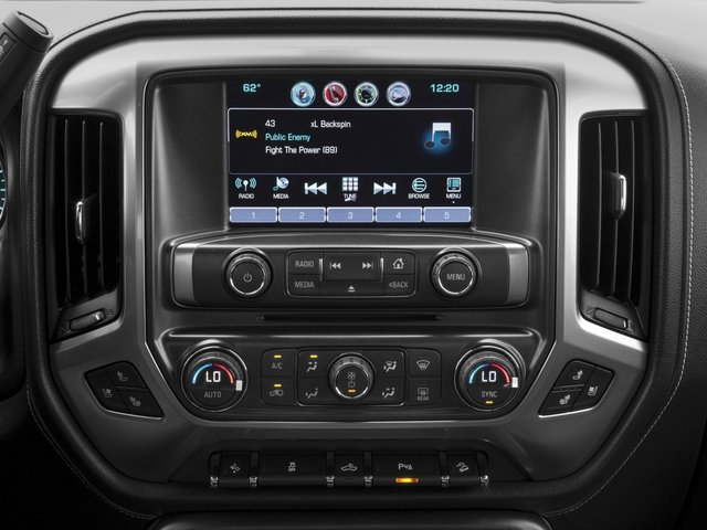 2016 Chevrolet Silverado 2500HD Prices and Values Extended Cab LTZ 4WD stereo system