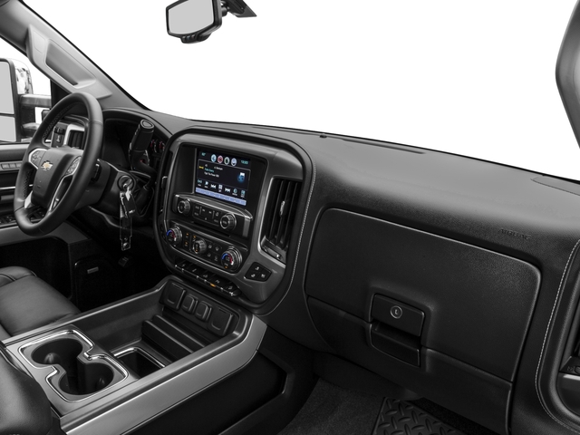 2016 Chevrolet Silverado 2500HD Prices and Values Extended Cab LTZ 4WD passenger's dashboard