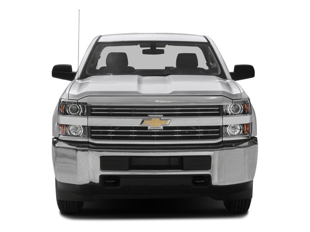 2016 Chevrolet Silverado 2500HD Prices and Values Extended Cab Work Truck 2WD front view