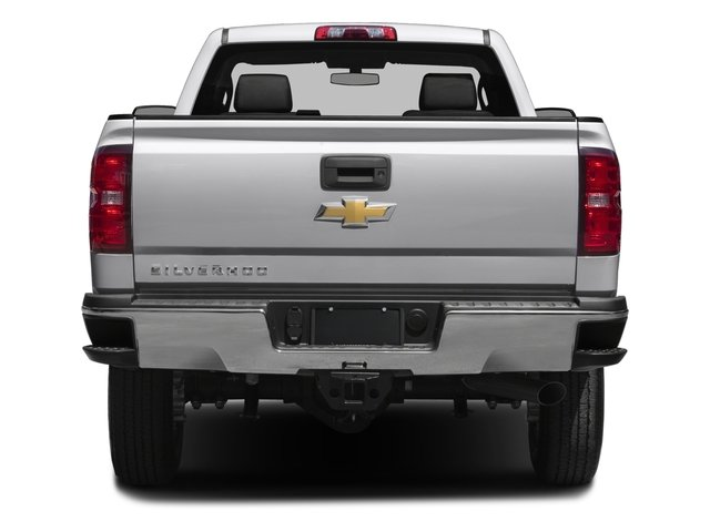 2016 Chevrolet Silverado 2500HD Prices and Values Extended Cab Work Truck 2WD rear view