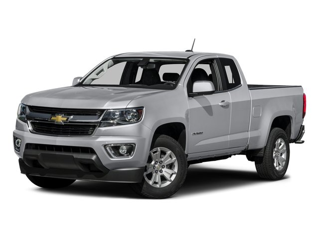 2016 Chevrolet Colorado Prices and Values Extended Cab LT 4WD side front view