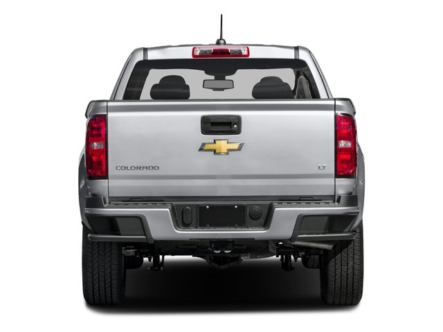 2016 Chevrolet Colorado Prices and Values Extended Cab LT 4WD rear view