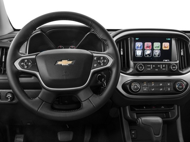 2016 Chevrolet Colorado Prices and Values Extended Cab LT 4WD driver's dashboard