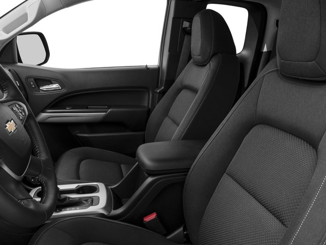2016 Chevrolet Colorado Prices and Values Extended Cab LT 4WD front seat interior