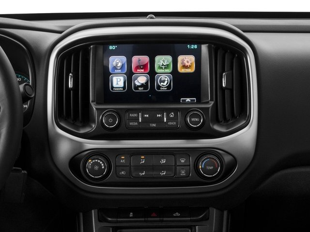 2016 Chevrolet Colorado Prices and Values Extended Cab LT 4WD stereo system