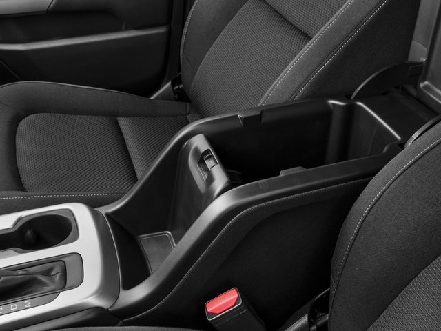 2016 Chevrolet Colorado Prices and Values Extended Cab LT 4WD center storage console