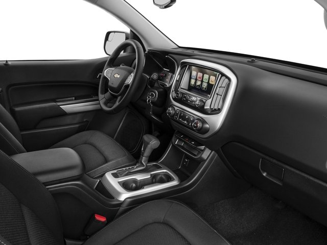 2016 Chevrolet Colorado Prices and Values Extended Cab LT 4WD passenger's dashboard