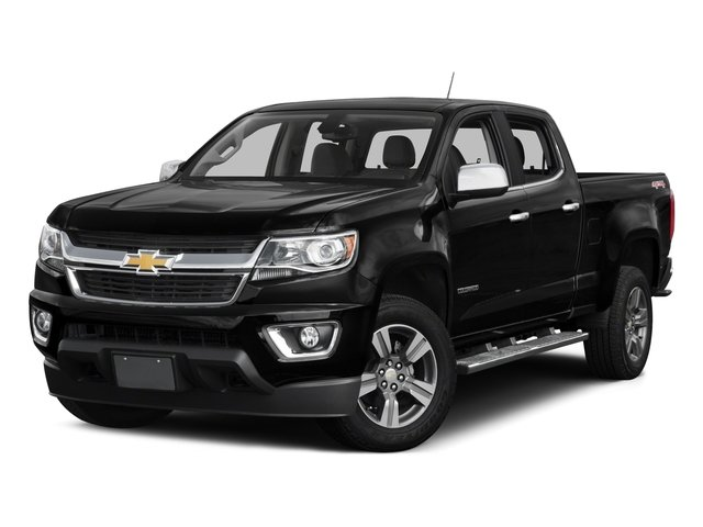2016 Chevrolet Colorado Pictures Colorado Crew Cab Z71 4WD photos side front view