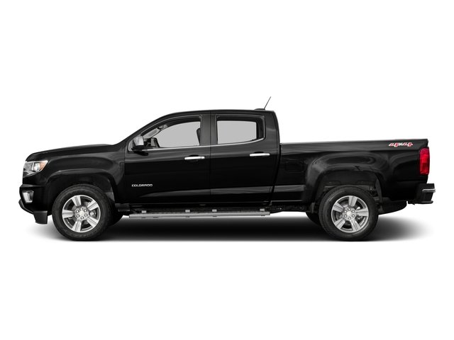 2016 Chevrolet Colorado Pictures Colorado Crew Cab Z71 4WD photos side view