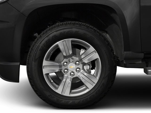 2016 Chevrolet Colorado Pictures Colorado Crew Cab Z71 4WD photos wheel