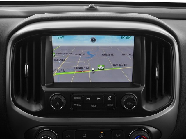 2016 Chevrolet Colorado Pictures Colorado Crew Cab Z71 4WD photos navigation system
