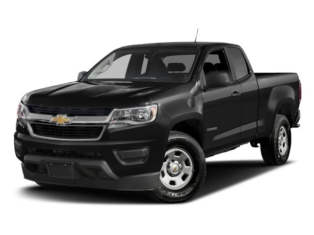 2016 Chevrolet Colorado Prices and Values Extended Cab Work Truck 4WD side front view
