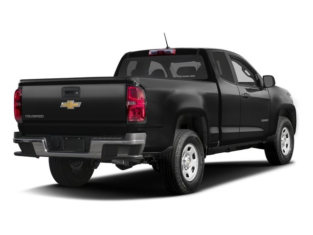 2016 Chevrolet Colorado Prices and Values Extended Cab Work Truck 4WD side rear view