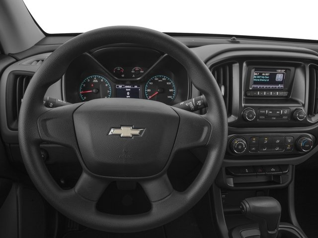 2016 Chevrolet Colorado Prices and Values Extended Cab Work Truck 4WD driver's dashboard