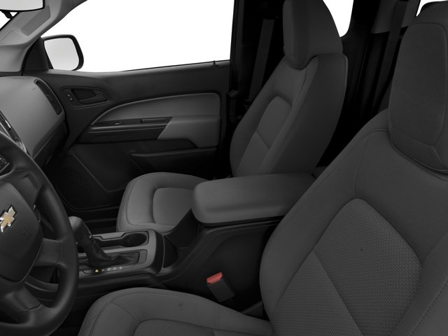 2016 Chevrolet Colorado Prices and Values Extended Cab Work Truck 4WD front seat interior